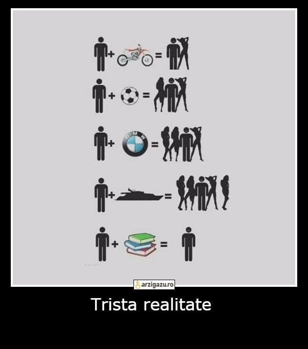 Trista realitate