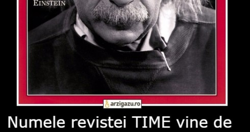 "Numele revistei TIME vine de la ""The International Magazine of Events"""