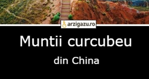 Muntii curcubeu din China
