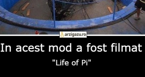 "In acest mod a fost filmat ""Life of Pi"""
