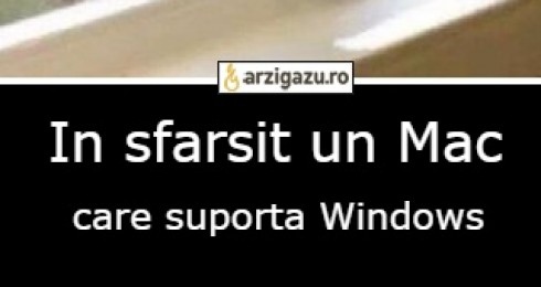 In sfarsit un Mac care suporta Windows