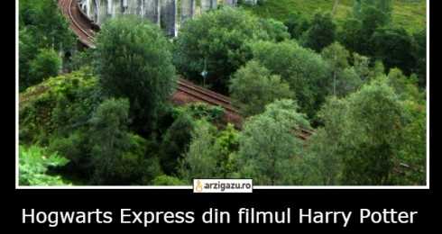 Hogwarts Express din filmul Harry Potter este un tren real din Scotia si nu a fost creat virtual
