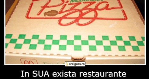In SUA exista restaurante McDonald's care servesc pizza