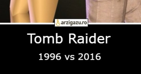 Tomb Raider 1996 vs 2016