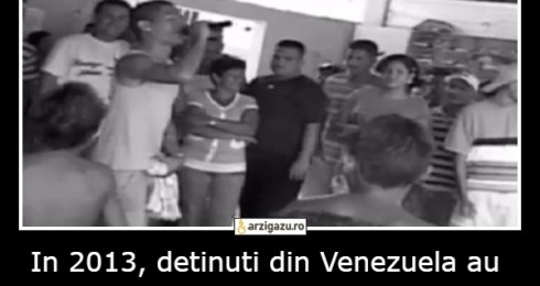 In 2013, detinuti din Venezuela au deschis un club de noapte in interiorul inchisorii